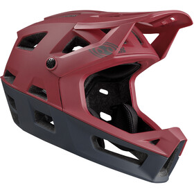IXS Trigger FF Helmet, night red
